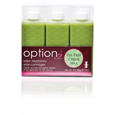 6 Pack Wax Patronen Tea Tree